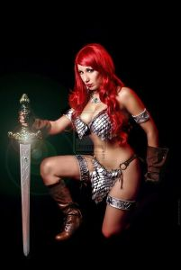 Cosplay Red Sonja 11