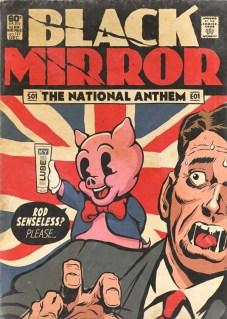 Butcher Bill Black Mirror national anthem