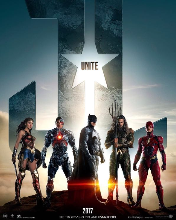 Justice League poster