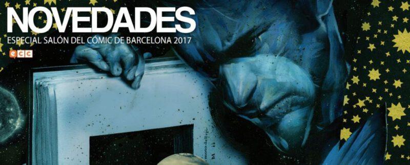 Novedades ECC Salon Comic Barcelona 2017
