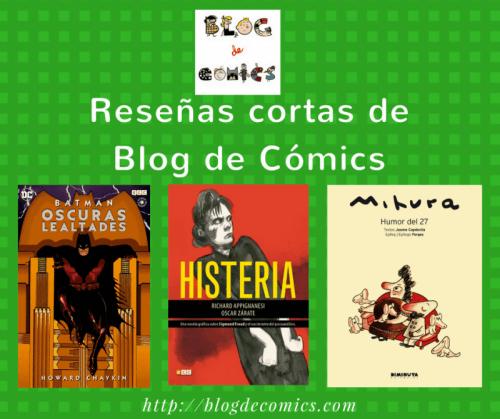 Reseñas Cortas de Blog de Comics