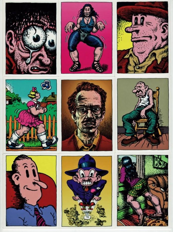 12 personajes de Robert Crumb que deberías conocer