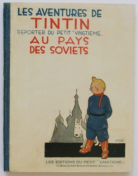 tintin pays soviets
