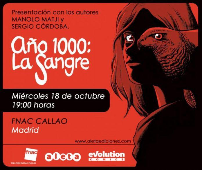 Presentación de AÑO 1000: LA SANGRE en FNAC Callao