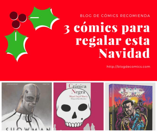 3 comics para regalar en navidad