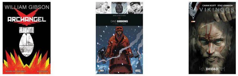 Reseñas cortas de cómics: Vikingos, Archangel y Grandes Autores de Vertigo: Dave Gibbons