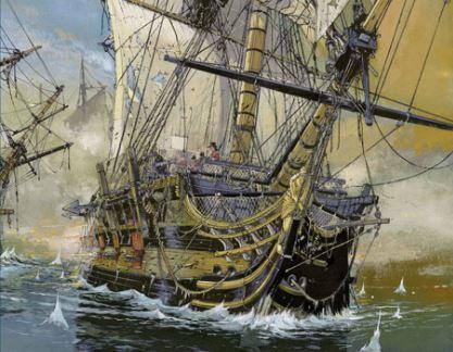 grandes batallas navales trafalgar