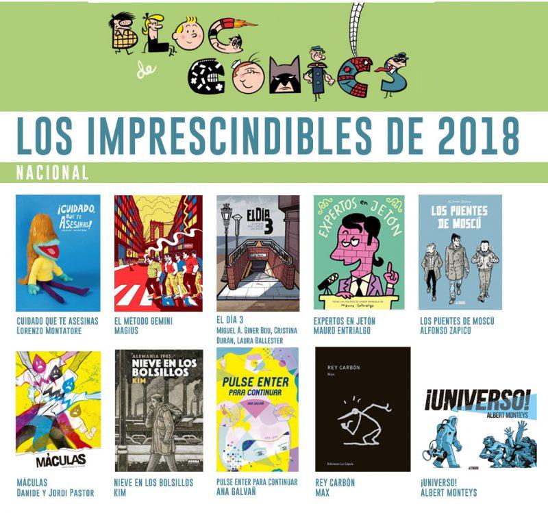 Mejores Comics Nacionales 2018 Blog de Comics