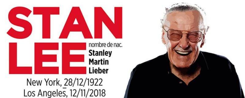 La vida de Stan Lee en una infografía