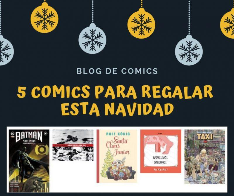 5 comics regalar navidad