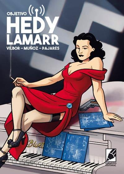"""""""OBJETIVO HEDY LAMARR"""". El nuevo cómic de Grafito Editorial"""