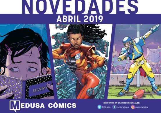 Novedades Medusa Cómics Abril 2019