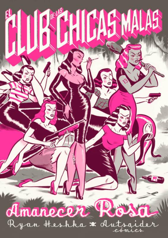 el club de las chicas malas amanecer rosa