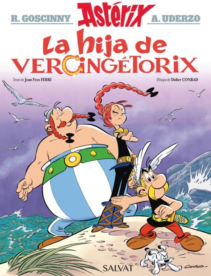 asterix La hija de Vercingétorix