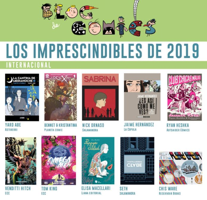 Los mejores cómics del 2019:  internacionales