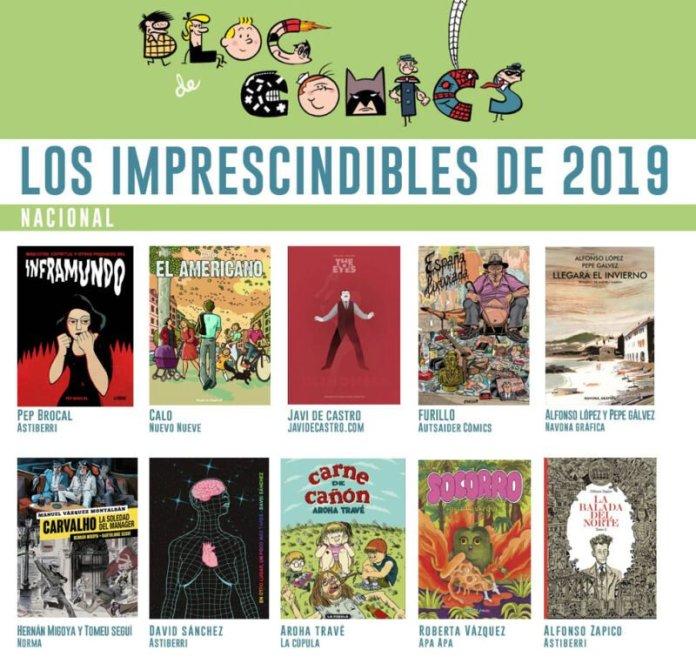 Los Mejores Cómics Españoles del 2019