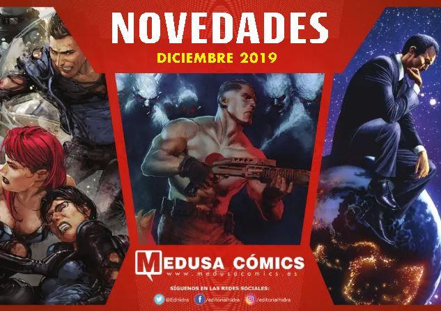 Descubre las novedades de Medusa Cómics para Diciembre de 2019