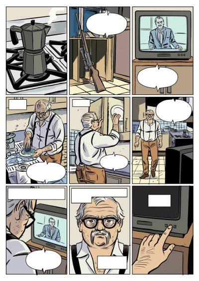 pagina de el viejo y el narco