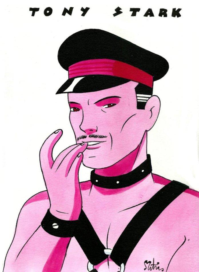 La otra cara de los superhéroes, por M.A. Martín. Hoy: Tony Stark