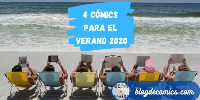 4 cómics para el Verano 2020