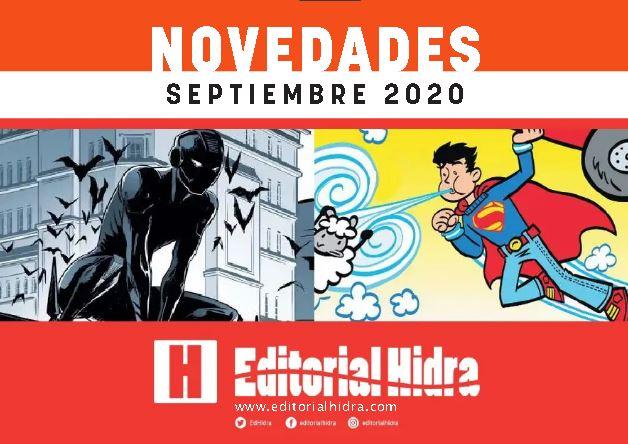 Novedades Editorial Hidra Septiembre 2020