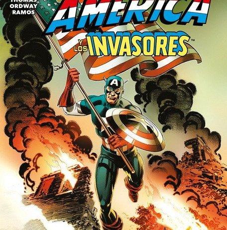 Reseña de Capitán América y Los Invasores Con motivo de la celebración de su 80º Aniversario, Marvel está sacando una serie de especiales, como por ejemplo Marvel Cómic 1000 del que ya hemos hablado en este blog. Capitán América y Los Invasores forma parte de esta celebración, y Panini lo publica en España en formato Comic Book.