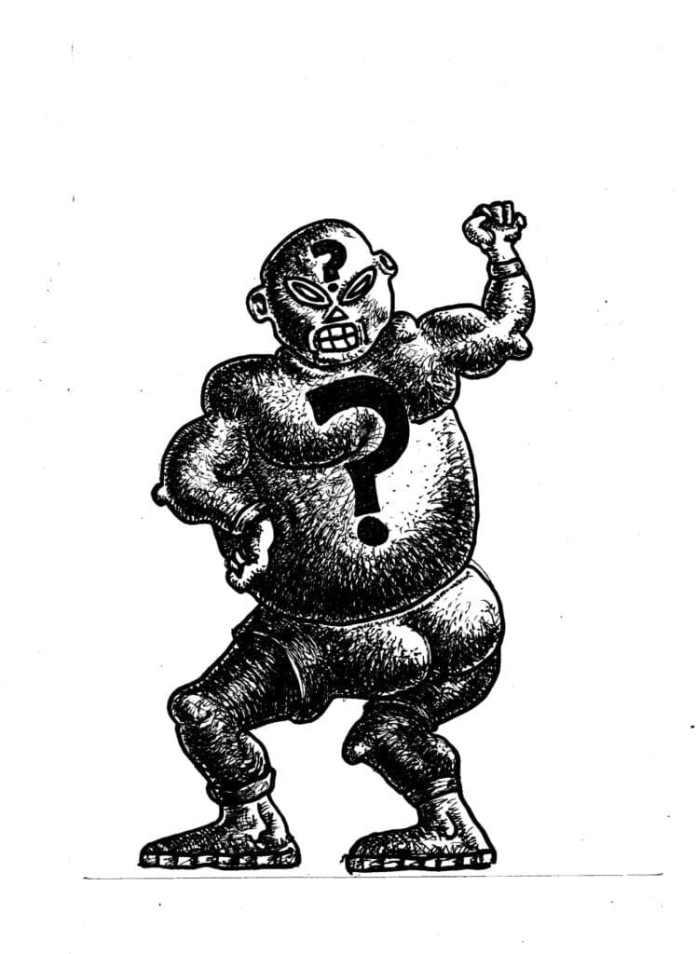 luchadores enmascarados Juanito Sangre