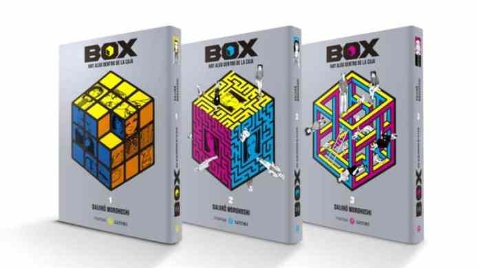 Box. Hay algo dentro de la caja