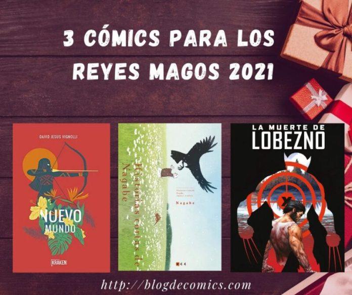 3 comics reyes magos 2021