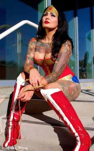 Cosplay Wonder Woman 16