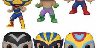 Funko Pop Marvel Luchadores