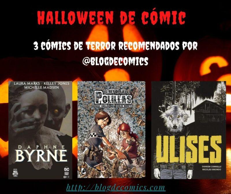 Halloween de Comic: 3 cómics de terror para este Halloween