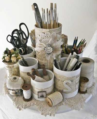 Sugestes de Decorao com Reciclagem Fotos Ideias Dicas