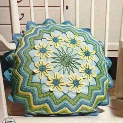 Almofadas de Croch para Decorao Fotos Modelos Dicas