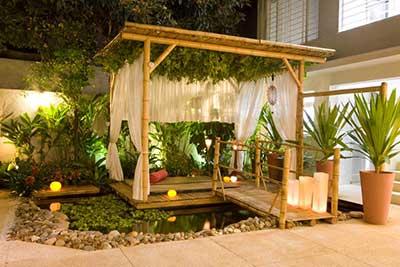 30 Dicas de Decorao com Bambu Verde e Seco para Casas