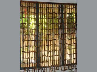 30 Modelos de Cortinas de Bambu para Decorao de Casa