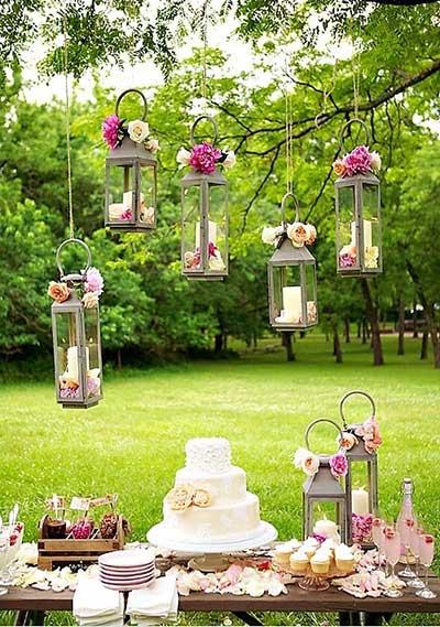 Decorao para Casamento de Dia Simples no Campo Fotos