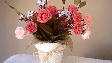50 Arranjos de Flores Artificiais para Igreja Mes Namorada