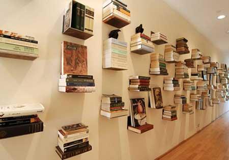 Prateleiras para Livros para Parede Biblioteca Quarto