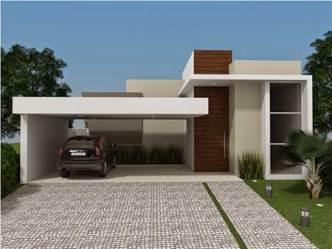 Fachadas de Casas Modernas: Pequenas Grandes Bonitas