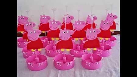 Dicas de Como Fazer Decorao de Festa Peppa Pig Simples