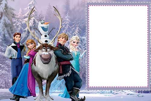 35 Convites Frozen Diferentes Simples Personalizados