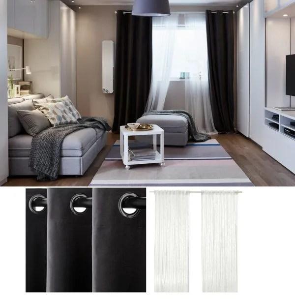 Cortinas Salon Ikea Fotos