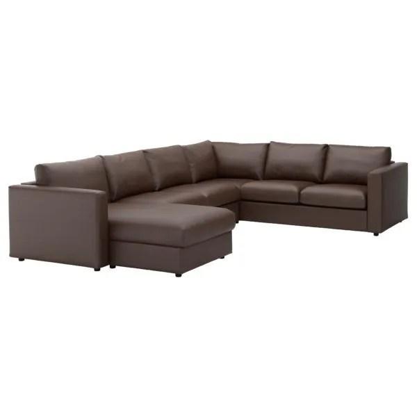 sofa bed and chaise baxton studio selma black leather modern sectional catálogo sofás ikea 2018 - blogdecoraciones