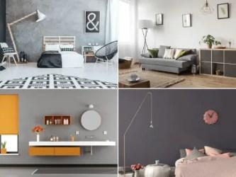 Los mejores colores que combinan con gris para decorar una casa BlogDecoraciones com