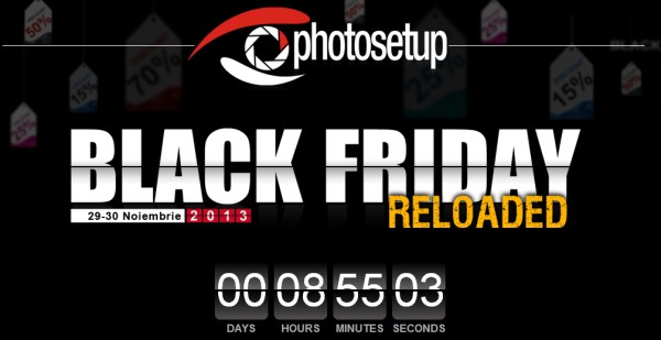 Promoții foto de Black Friday - Photosetup