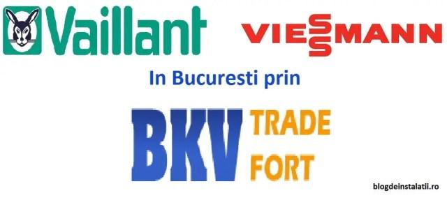 Centrale termice Vaillant sau viessmann in Bucuresti prin Bkv Trade Fort