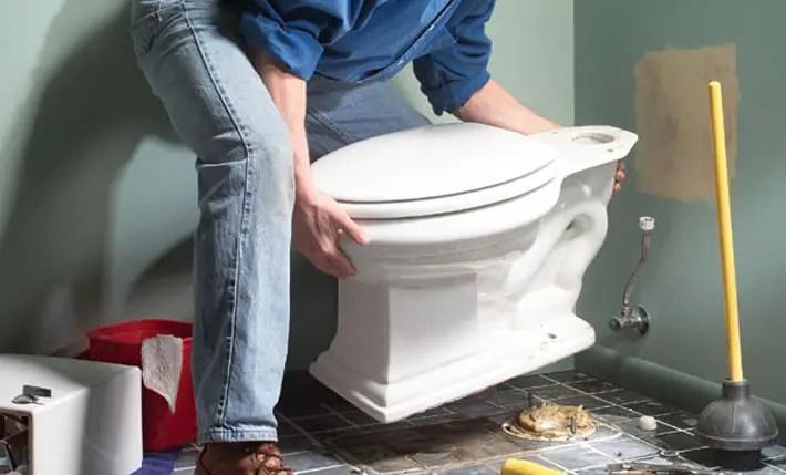 Cum Montezi WC-ul In Locul Celui Vechi