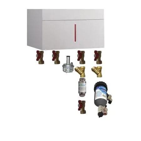 Schema de montaj pentru centrala termica pe gaz - varianta 2