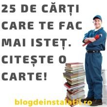 25 De Cărți Care Te Fac Mai Isteț. Citește O Carte! blogdeinstalatii.ro poza carte
